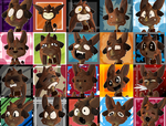 OC Emoji faces icones Available [OPEN] by Savage-Mojo