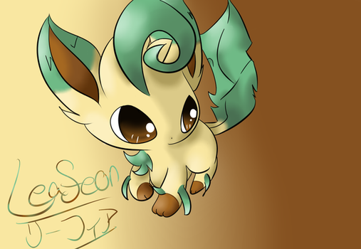 CE: Leafeon by Chaomaster1