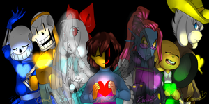 .:Darkness and Magic/Undertale AU:. by RoDennOn