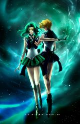 Neptune and Uranus by did-you-reboot