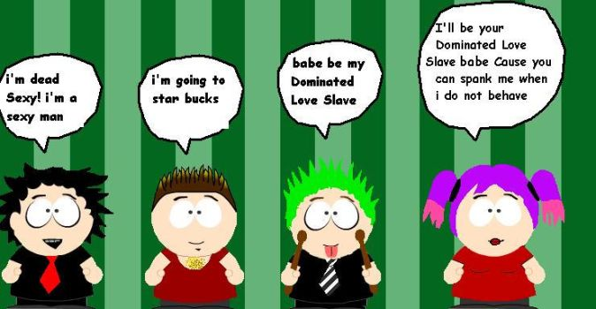 south park green day 2 by Jins-girl