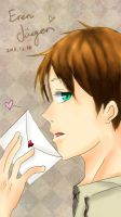 Eren's Love Letter by Siveryyao