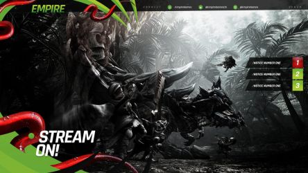 Venom Stream Overlay Pack by lightmares