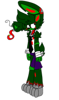 SpringTrap by PegasisVixen and Funtime by Mangled-Funtime-Fox