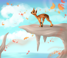 Prompt 10 - Autumn by Hannah--Bug