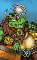 DKC: Tropical Freeze - Viking K.Rool by Danny-Jay