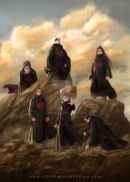 Six Paths of Pein by luffie