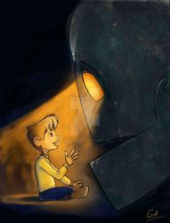 Iron Giant Project by gabrielleandhita