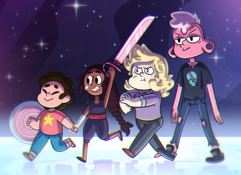 Crystal Humans by ZeTrystan