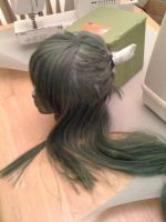 Lyndis Wig WIP by Miss-Marquin