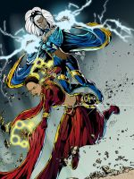 Ororo and Okira Fan Fiction by gemgfx