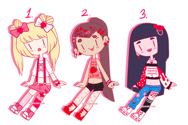 Strawberry Adopts { CLOSED } by hello-planet-chan