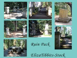 Forest Ruin Pack by ElizaTibbits-Stock