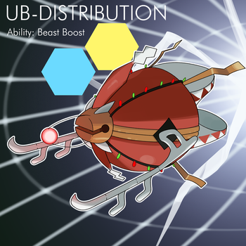 UB-DISTRIBUTION [Monthly Prompt 6] by locomotive111