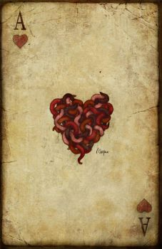 The Ace of Hearts by RedChiffon