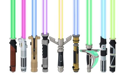Lightsaber Designs lit by Stephen-Daymond