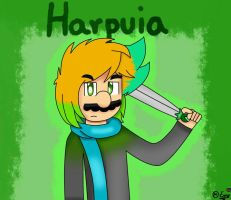 AT ~Just Harpuia  by ForeverfanMarioBros
