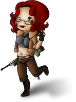 Chibi Jane by Adela555