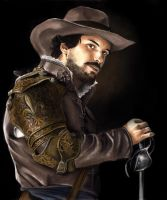 The musketeers BBC - Aramis by meilin-mao