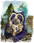 Spectacled Bear Fauna Focus by Shadowind