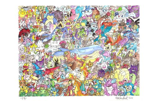 171 Pokemon by harusame