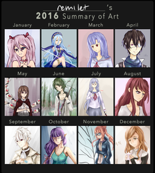 2016 Art Summary by remilet