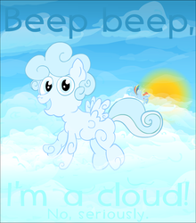 Cloud Pony by UltraTheHedgetoaster