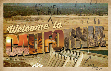 California Drought by catchuptheduck