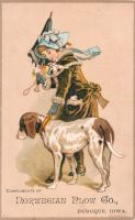 Victorian Advertising - Dog Walker by Yesterdays-Paper