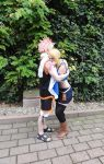 Natsu and Lucy Cosplay Fairy Tail by Lucy-chan90