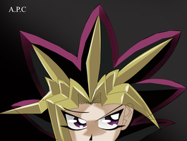 Perfected 3D Yami Yugi by Andypopcorn