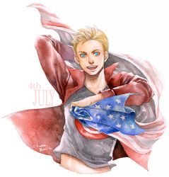 Happy Birthday Steve Rogers! by Ecthelian