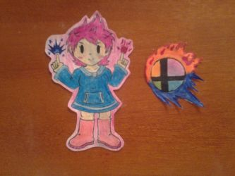 Characters I want in SSB4 2.0: 5. Kumatora by solidservine97