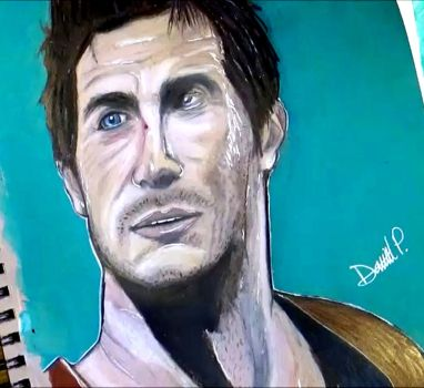 Nathan Drake Drawing Pic by MrJuniorer