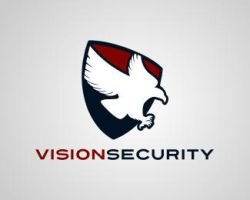 vision security logo by blue2x
