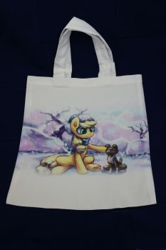 Applejack and Winona-Shopping Bag by Art-N-Prints