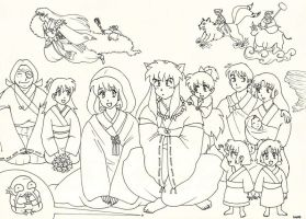Inuyasha's Wedding by kia88