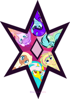 Harmony Star With Bpffs ^^ by Morries123