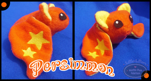 Little Litters - Persimmon -Plush by Sparkle-And-Sunshine