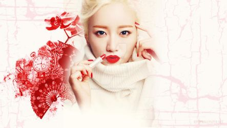 Apink Bomi Desktop Wallpaper by allkpopwallpaper