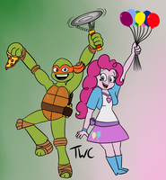 Party Dude and Dudette by tellywebtoons