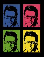 Jeff Goldblum pop art by RetardMessiah