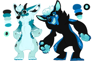 +ADOPTS!+ Odd Corgis (CLOSED) by IMonsterDrool