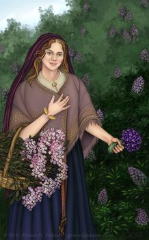 Roses, Lilacs and Violets by gpalmer