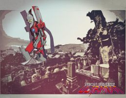 Neon Genesis Ultraman by enemydownbelow