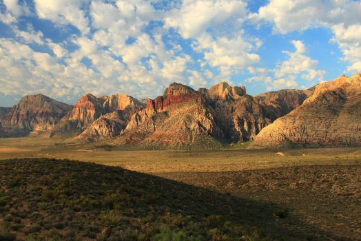 Spring Mountains by Celem