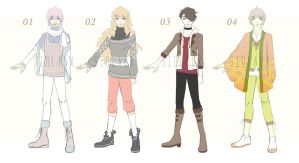 [CLOSED TY!] Casual Sketch Adopts SET PRICE by Sidlaux