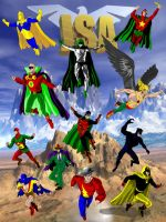 Justice Society by jaypiscopo