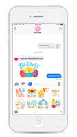 iMessage Easter Sticker Set by MissChatZ