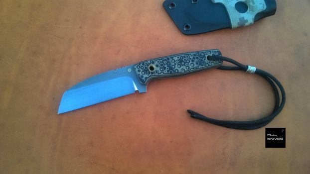 x55-wharncliffe N690 Stainless by MLLKnives